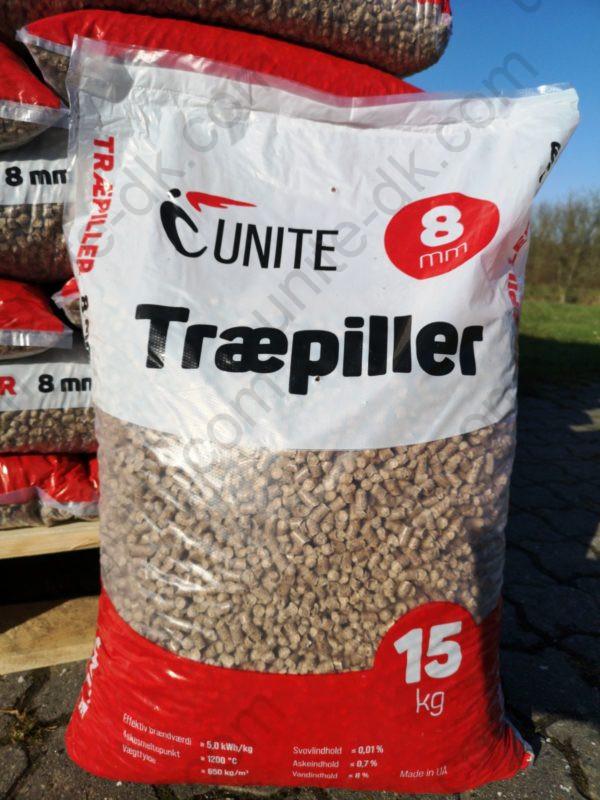 Træpiller Unite 8 mm